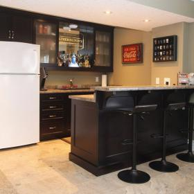 Basement Renovation and bar in Kitchener