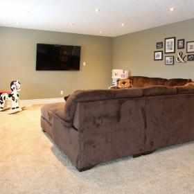 2015 Basement Reno with living area in Kitchener