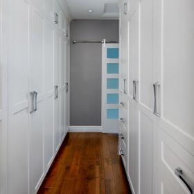 Floor to Ceiling Storage for Hallway