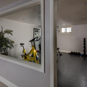 Basement Gym Renovation