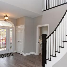 Beautiful Foyer with Double Doors