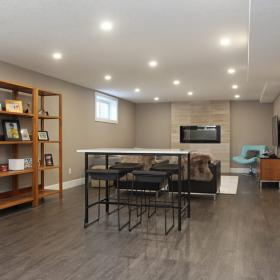 Canadian Home and Renovation Team Basement Reno