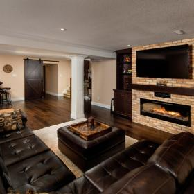 Basement Renovation from Canadian Home and Renovations Team