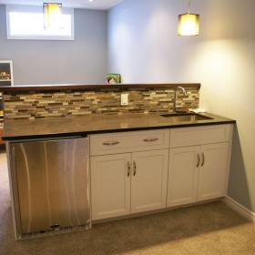 Kitchenette for the Basement