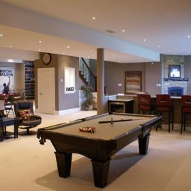 Basement Idea for Spacious Basement