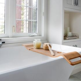 Functional Tray  and Caddy for Bathtub