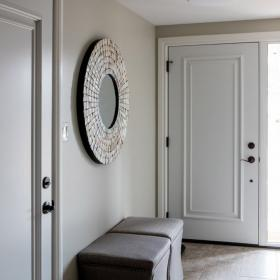 White Front Door for Home