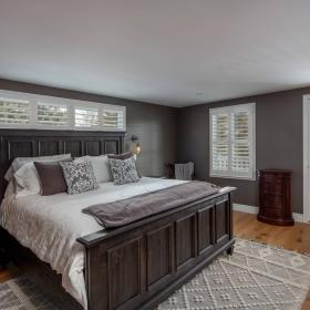 Master Bedroom Renovation with Walk Out