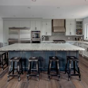 Gorgeous Custom Kitchen Renovation by CHART