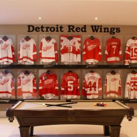 Detroit Red Wings Hockey Jersey Collection