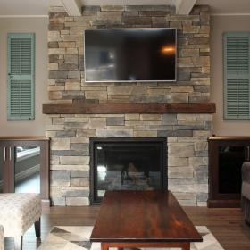 CHART Fireplace Renovation