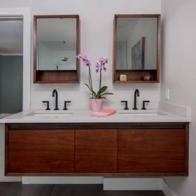Double Sink Floating Vanity from CHART