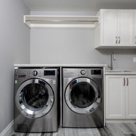 Laundry Room with Lots of Storage