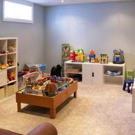 Kid's Playroom with IKEA Furniture