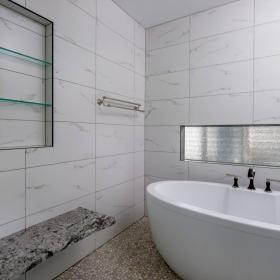 Niche and Bench in Shower