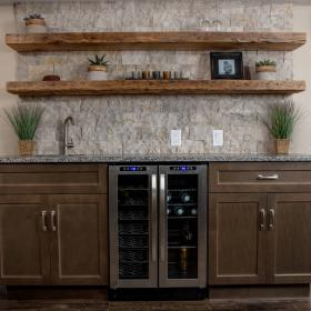 Modern Wet Bar Renovation from CHART