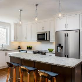 Kitchen and Island Renovation in Kitchener