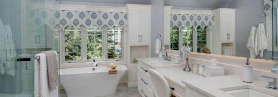 Beautiful Custom Bathroom by CHART